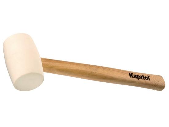 Immagine di Mazzuola gomma manico legno