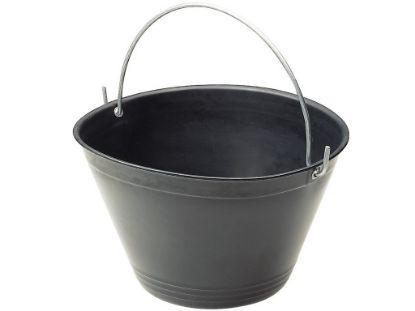 Immagine di Secchio in plastica nero