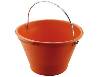 Immagine di Secchio in plastica arancio