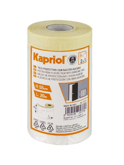 Immagine di Telo protettivo con nastro adesivo